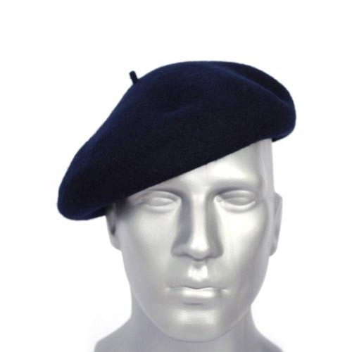 Beret Cap in Blue
